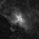 M16 Eagle nebula Ha,                                Hornisse