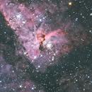 Keyhole Nebula,                                Erik
