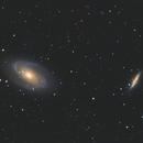 M 81 & M 82 (Bode's Galaxy & Cigar Galaxy),                                Terrance