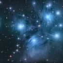 M45 The Pleiades,                                John Travis