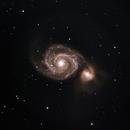 Whirlpool Galaxy,                                Anca Popa