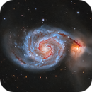 Messier 51 - The Whirlpool Galaxy,                                Kasra Karimi