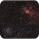 NGC 7635 , M52 wide field,                                floreone