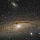 M31 Andromeda Galaxy Reprocess,                                orfeasv