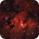 The Cave Nebula in HαRGB,                                Brent Newton