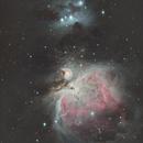 Orion- and Running Man Nebula LRGB,                                Arne Krack