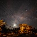 Planetary alignment (Venus, Moon, Neptune, Saturne, Jupiter),                                Fabio Mirra