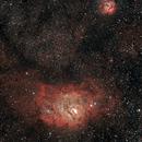 M8 and M20 - the Lagoon and Trifid nebulae,                                Sagittarius_a