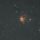 NGC 1579 - the northern trifid,                                Detlef Möller