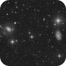 NGC 4151 and Friends (HaLRGB with 108 hrs integration time),                                Frank Breslawski