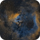 NGC 7822 - Sii, Ha, Oiii 4 Panel Mosaic,                                Brad