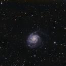 Galaxy M101 and periphery,                                Joanot