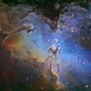 M16 Eagle Nebula Center,                                astro_m