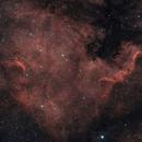 NGC7000 - SHO,                                Almos Balasi