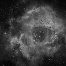 NGC2237 Ha first light MZ9,                                Fabio Semeraro