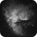 Pacman Nebula in Ha,                                jsigone
