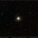 M10 - Globular Cluster in Ophiuchus,                                José Miranda