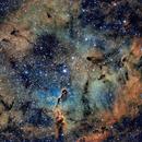 IC1396 Elephant Trunk Nebula SHO,                                Tom