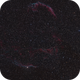 Veil Nebula in Cygnus Two Panel Mosaic,                                Sigga