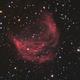 Abell 21 the Medusa Nebula in HaLRGB,                                Albert van Duin