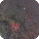 IC1396 and sh2-129,                                Masayuki Matsuo