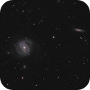 M100 and NGC4312,                                Dave Boddington