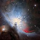 M42 in 49 frames : PixInsight vs Star Tools,                                Ewam