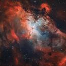 The Eagle nebula and the Pillars of Creation,                                Cristiano Gualco