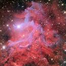 NASA APOD -> IC405: The Flaming Star Nebula,                                Adam Block