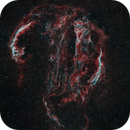 The Veil Nebula Complex in Bicolor (HOO),                                pete_xl