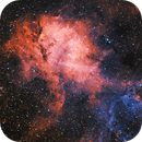 Sh2-132 Lion Nebula,                                Robert Browning