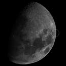 Doppio transito lunare di satelliti ,                                Stefano Quaresima