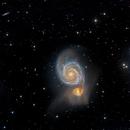 Messier 51/ The Whirlpool Galaxy,                                Lancelot365
