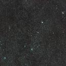 """Cassiopeia open clusters / Canon 100Da + Canon 400mm L USM f/5.6 / 50x60"""" / ISO 1600 / SW Star adventurer moun,                                patrick cartou"""