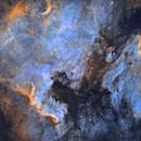 NGC 7000 - IC 5070 (North America & Pelican Nebulae) narrowband,                                remidone