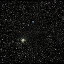 M-71 and starfield in sagitta,                                Ralfavar