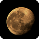 Rising Moon in red sunlight,                                nonsens2