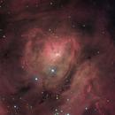 The Lagoon Nebula,                                dsurfingmark