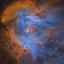 IC 2944~Running Chicken Nebula,                                Fluorine Zhu