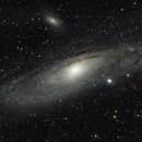 M31 Andromeda Galaxy,                                Mike Behnke