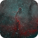 First Mono Integration - IC1396 Elephant Trunk HOO,                                SoDakAstronomyNut