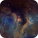 In the Soul Nebula - IC1871 SHO  other version,                                Arnaud Peel