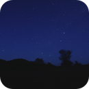 Crux on Horizon just before dawn,                                P-K