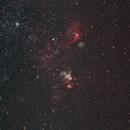 NGC 2032-5 area in the LMC,                                tornado33