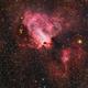 Omega Nebula - M 17,                                Alessandro Carrozzi
