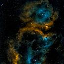Soul Nebula 2x1 Mosaic,                                Jim McKee
