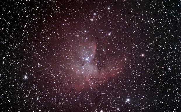 NGC 281 - Pacman Nebula,                                nazarine