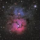 Trifid Nebula (M20),                                jgibsonemu