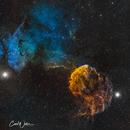 IC 443 & IC 444,                                Carl Weber
