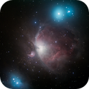 Orion Nebula - Cloudy Skies,                                David Quattlebaum